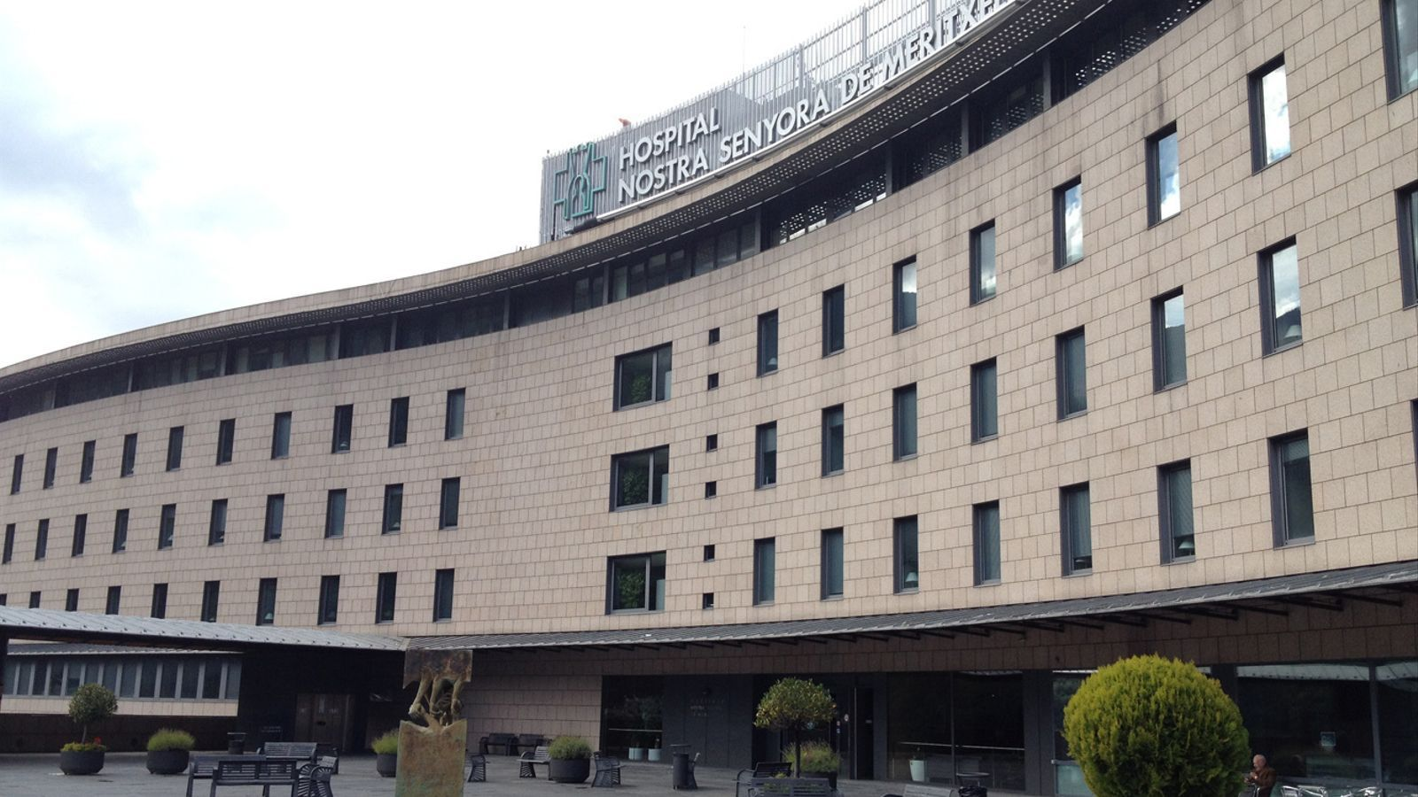 Vista general de l'Hospital Nostra Senyora de Meritxell. / ARXIU ANA