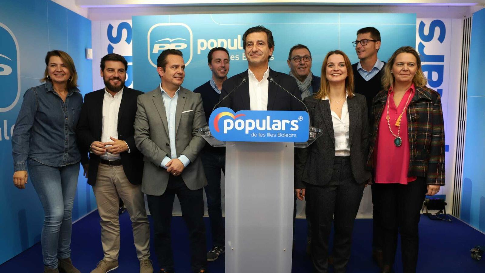 El PP s'enforteix i torna a ser la segona força a les Balears
