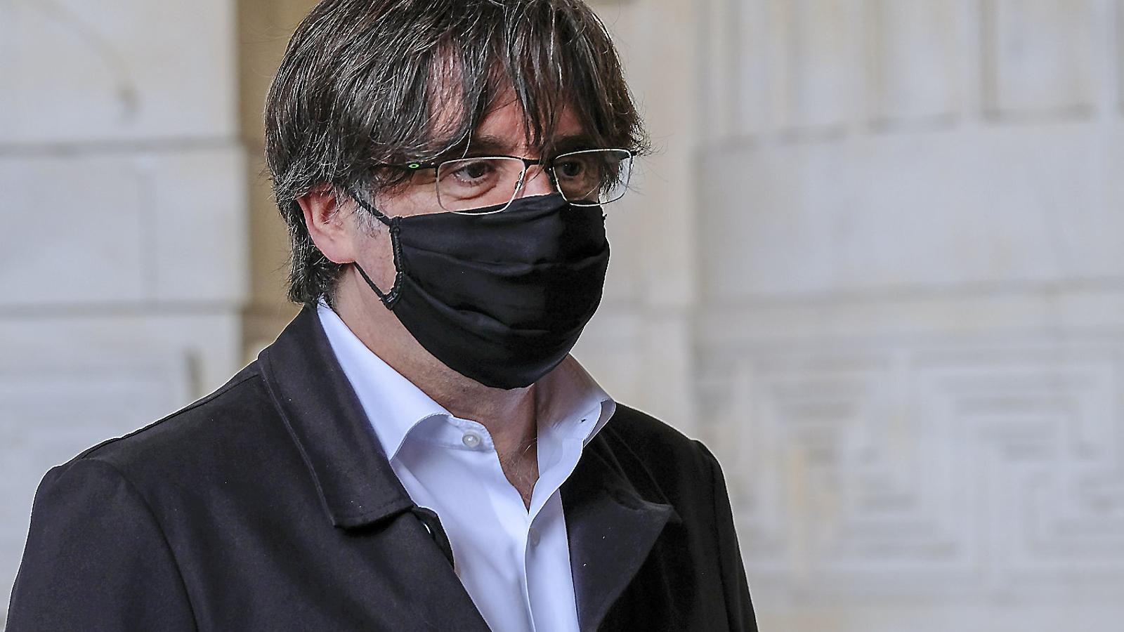 L'expresident Carles Puigdemont en una imatge recent.