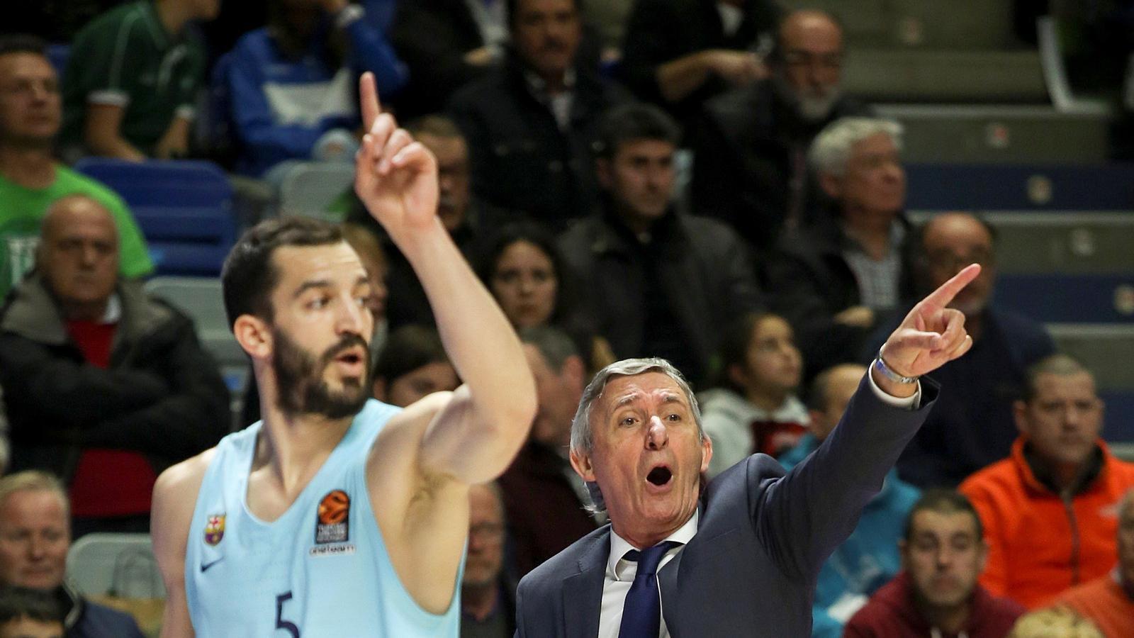 Pau Ribas i Svetislav Pesic