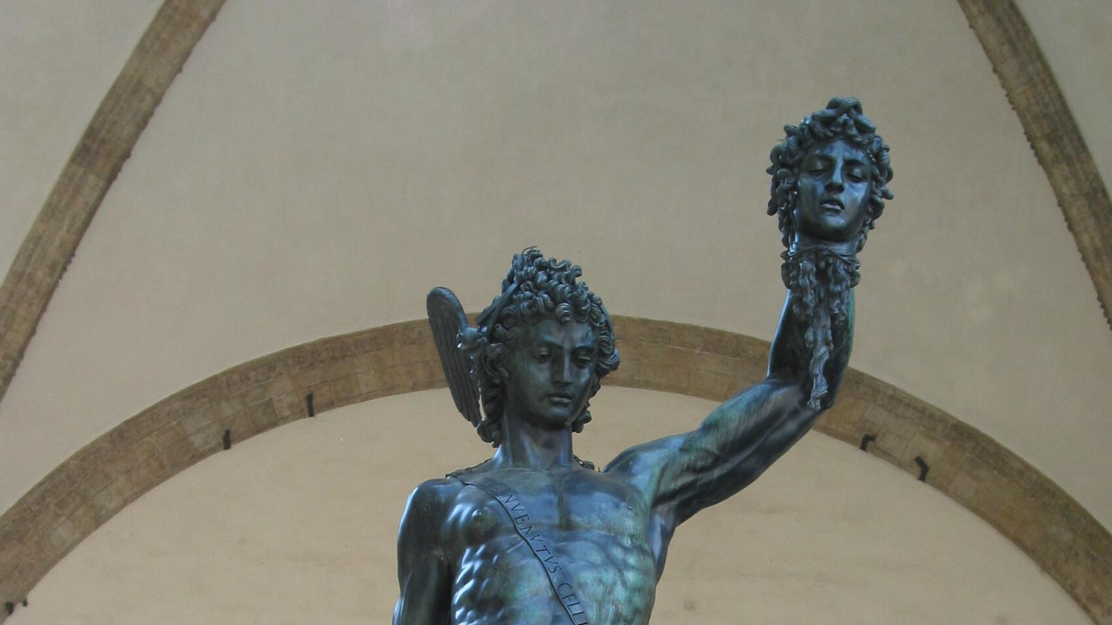 'Perseu amb el cap de Medusa', de Benvenuto Cellini