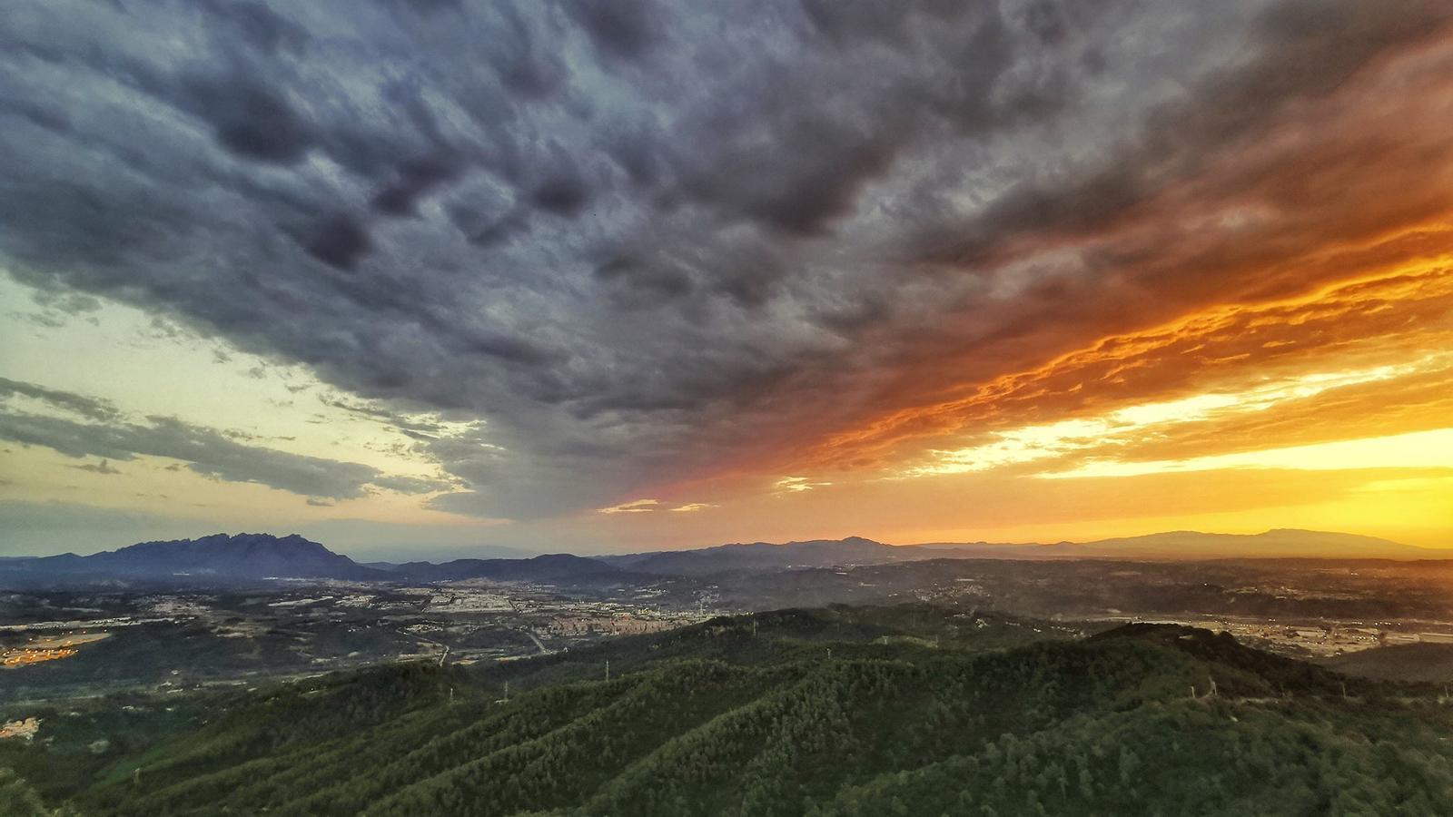 El Servei Meteorològic avisa de perill alt per calor a les comarques de Ponent i a la Val d'Aran