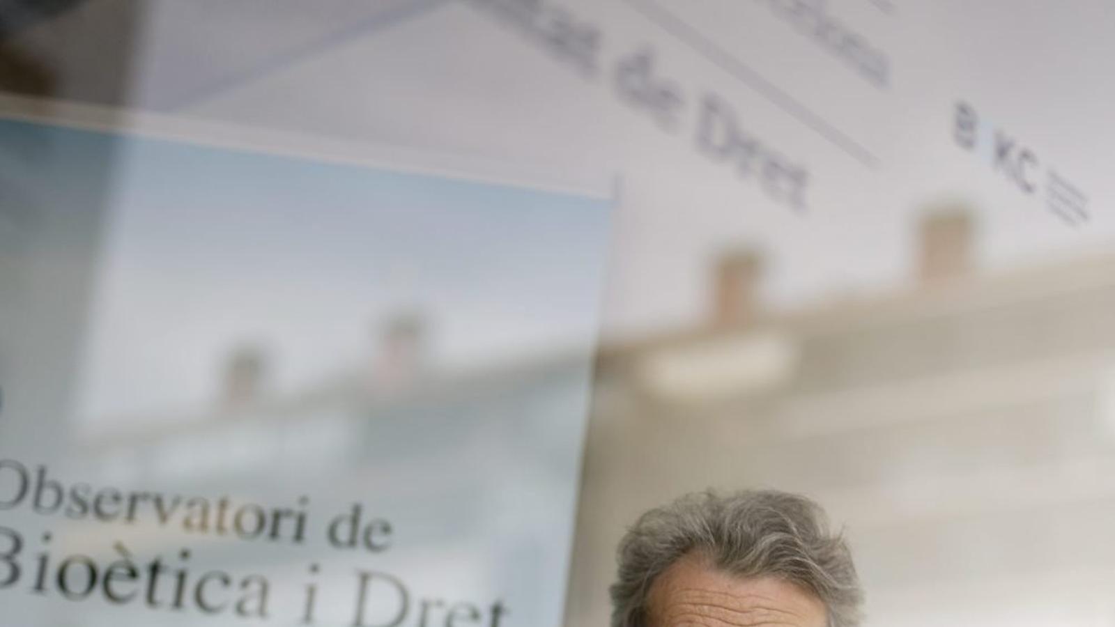 Albert Royes fa anys que defensa la legalització de l'eutanàsia i el suïcidi assistit per evitar patiments innecessaris.