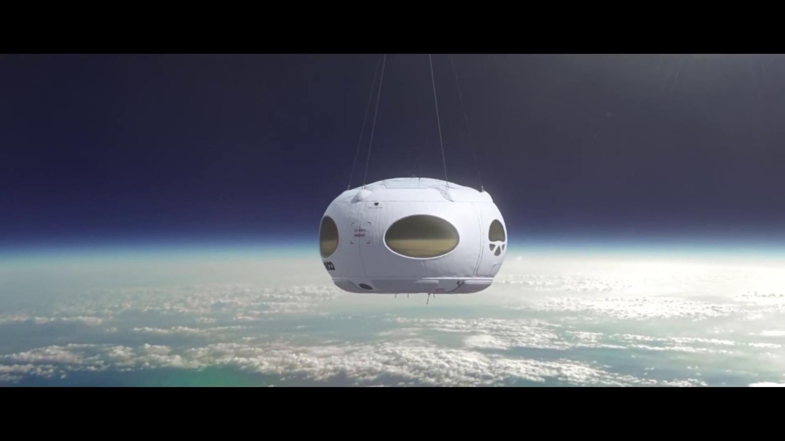 Silmulació de viatge a l'espai
