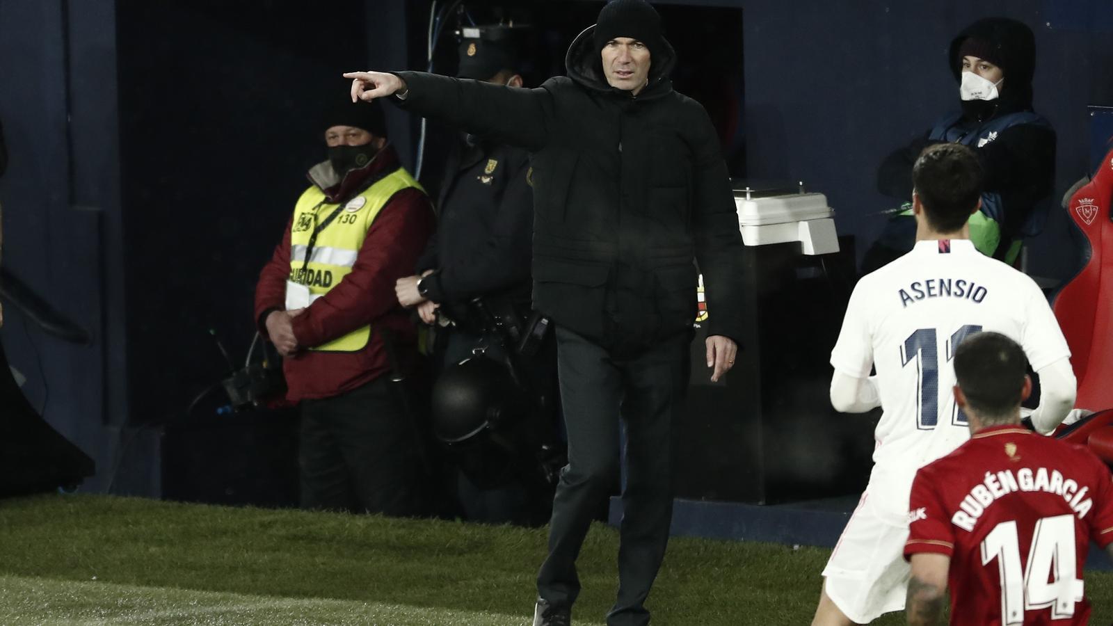 Zinedine Zidane a Pamplona
