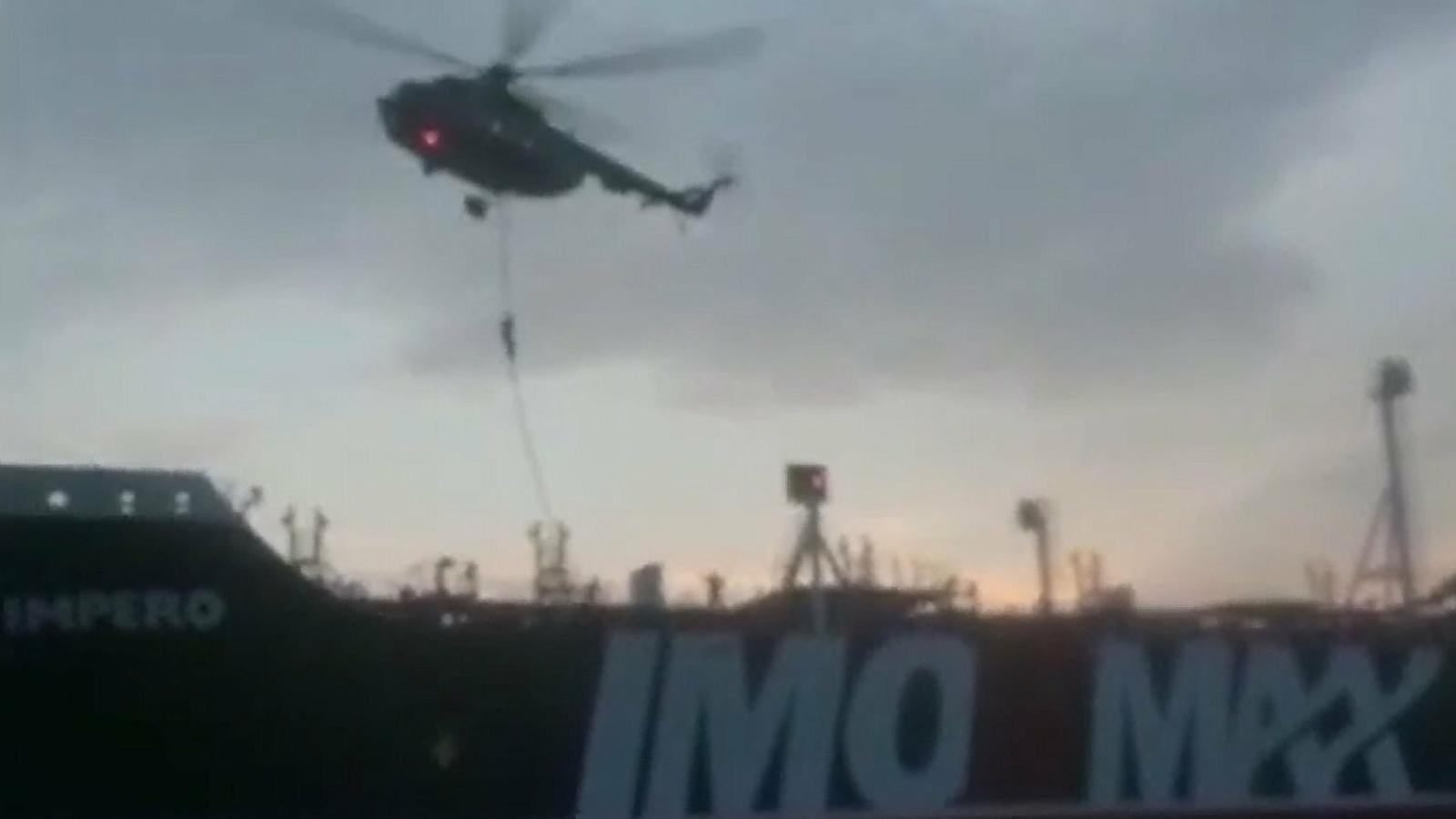 """""""Si obeeixes estaràs segur: canvia el rumb 360 graus"""", l'advertiment iranià al vaixell britànic"""