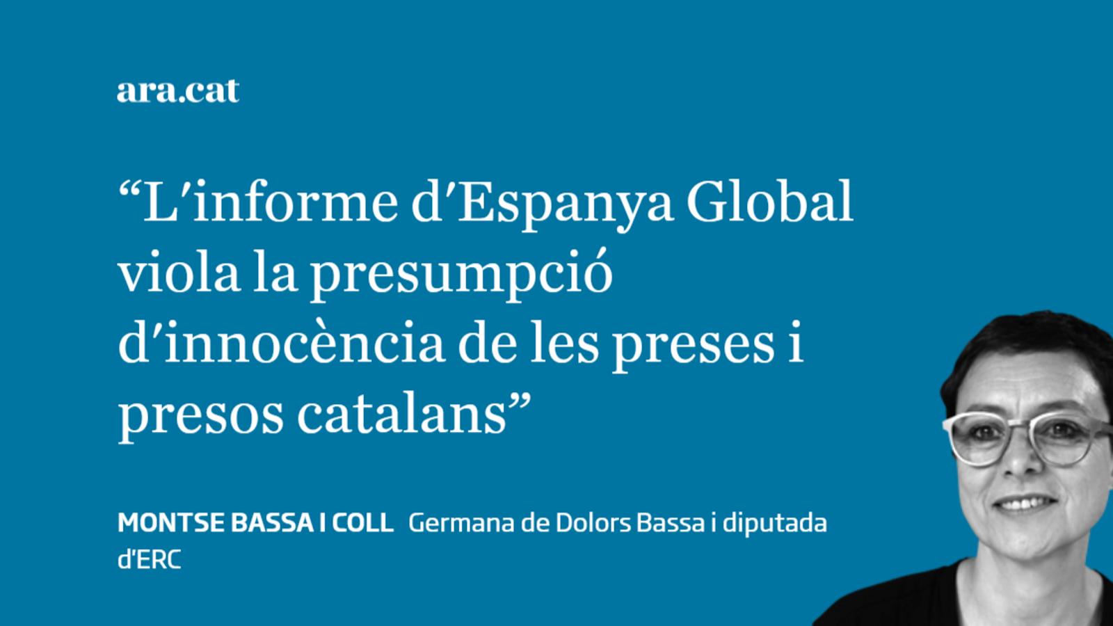 Espanya Global: una campanya de culpabilització