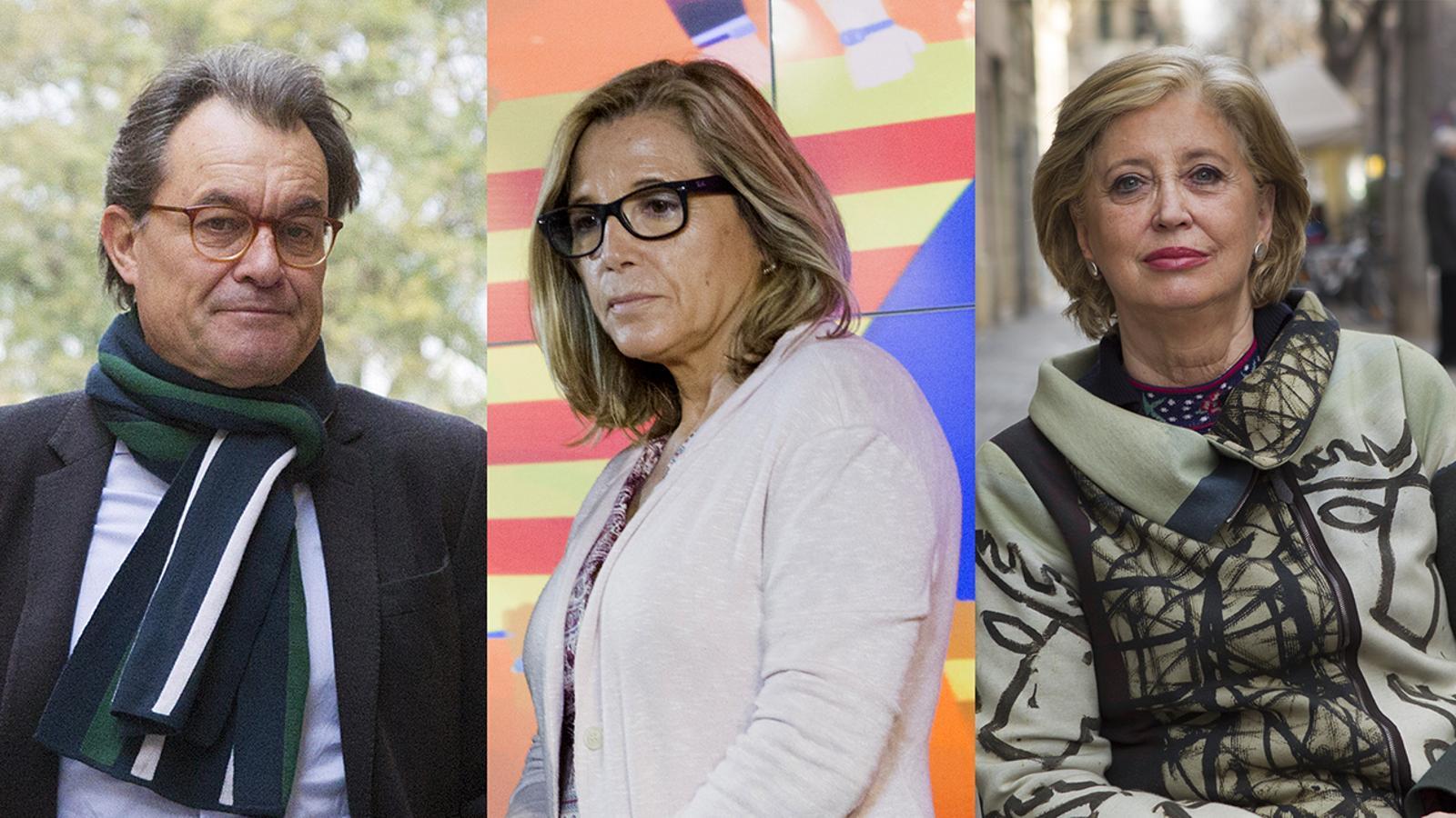 Artur Mas, Joana Ortega, Irene Rigau