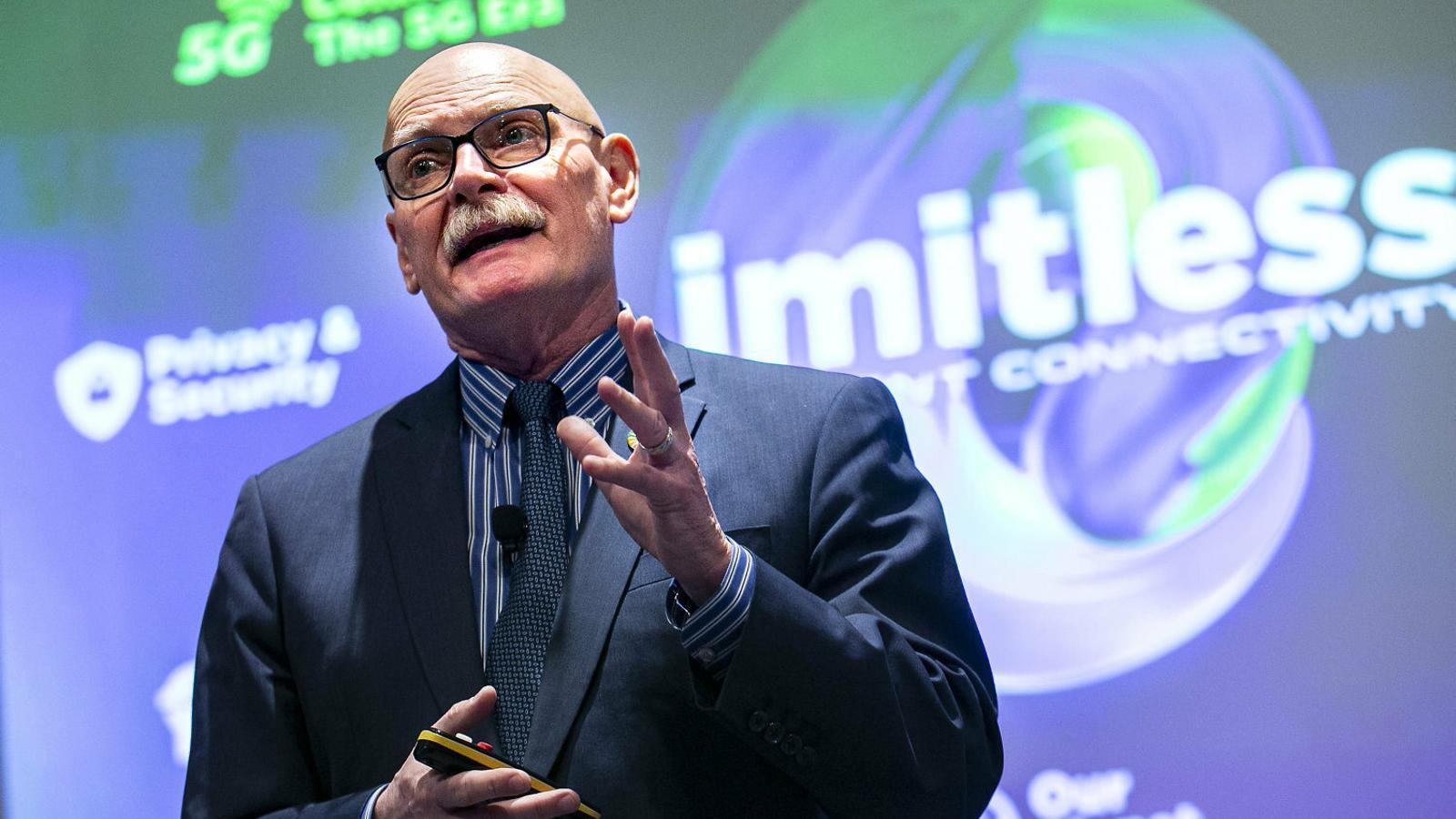 John Hoffman, president de la GSMA, l'ens organitzador del Mobile.