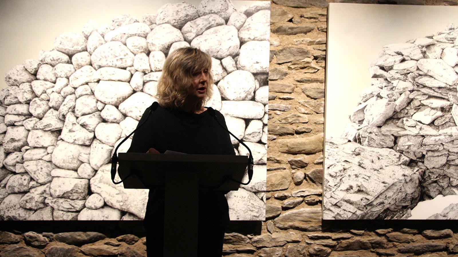 Maria Reig, la impulsora del projecte de Cal Pal. / M. P. (ANA)