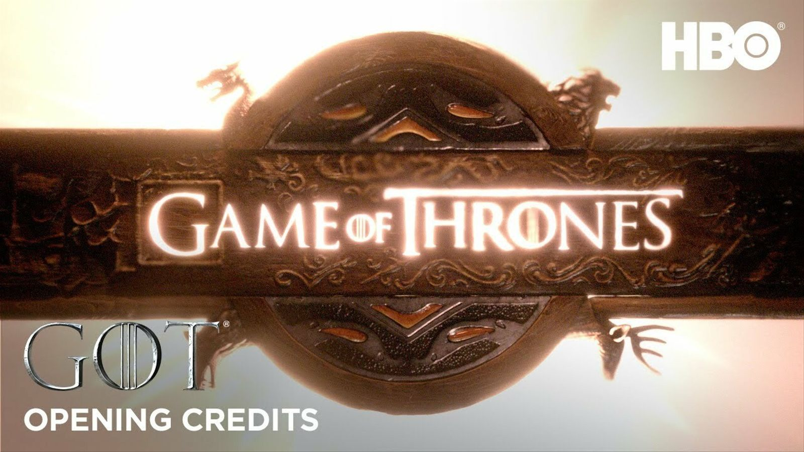 Crèdits inicials de 'Joc de trons'