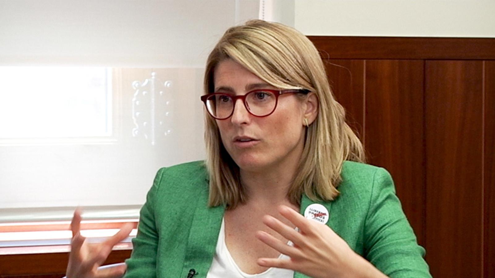 """Elsa Artadi: """"Volem construir un país millor fent les polítiques i donant la veu al poble, no ho veig contradictori"""""""
