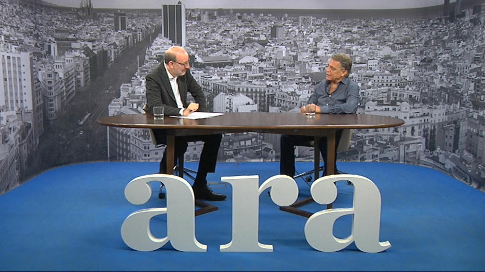 Entrevista d'Antoni Bassas a Joaquim Maria Puyal