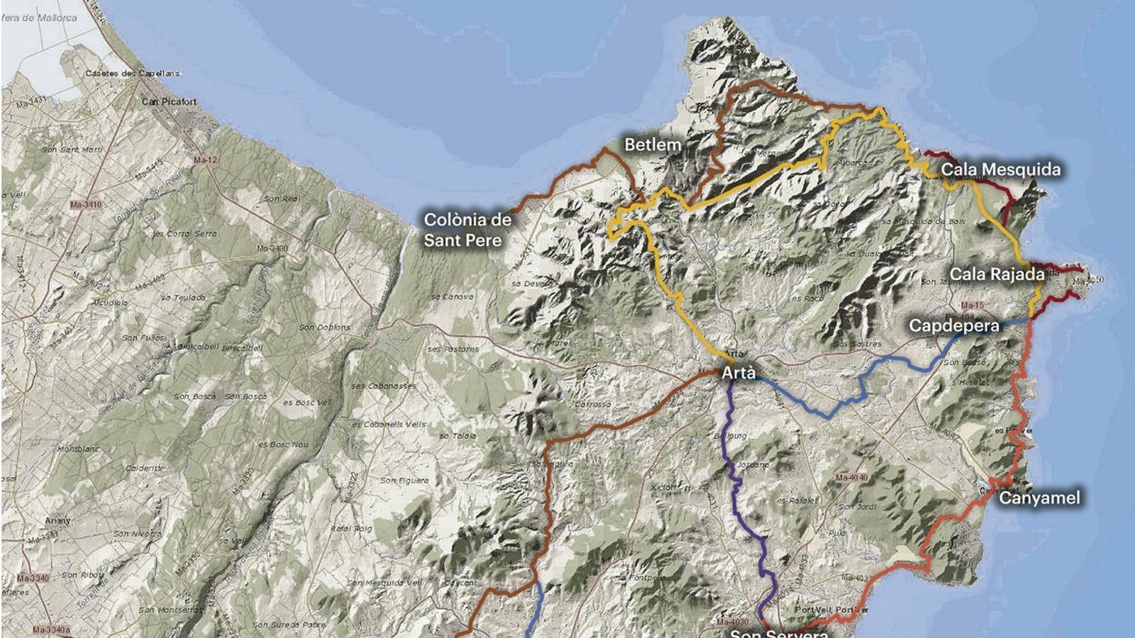 La ruta senderista més llarga s'obre pas al Llevant