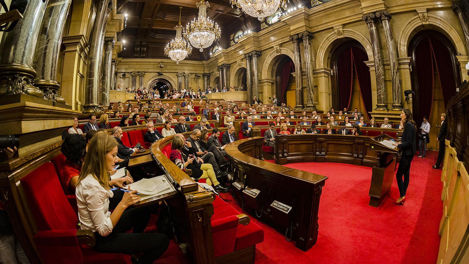 EN DIRECTE | Ple al Parlament