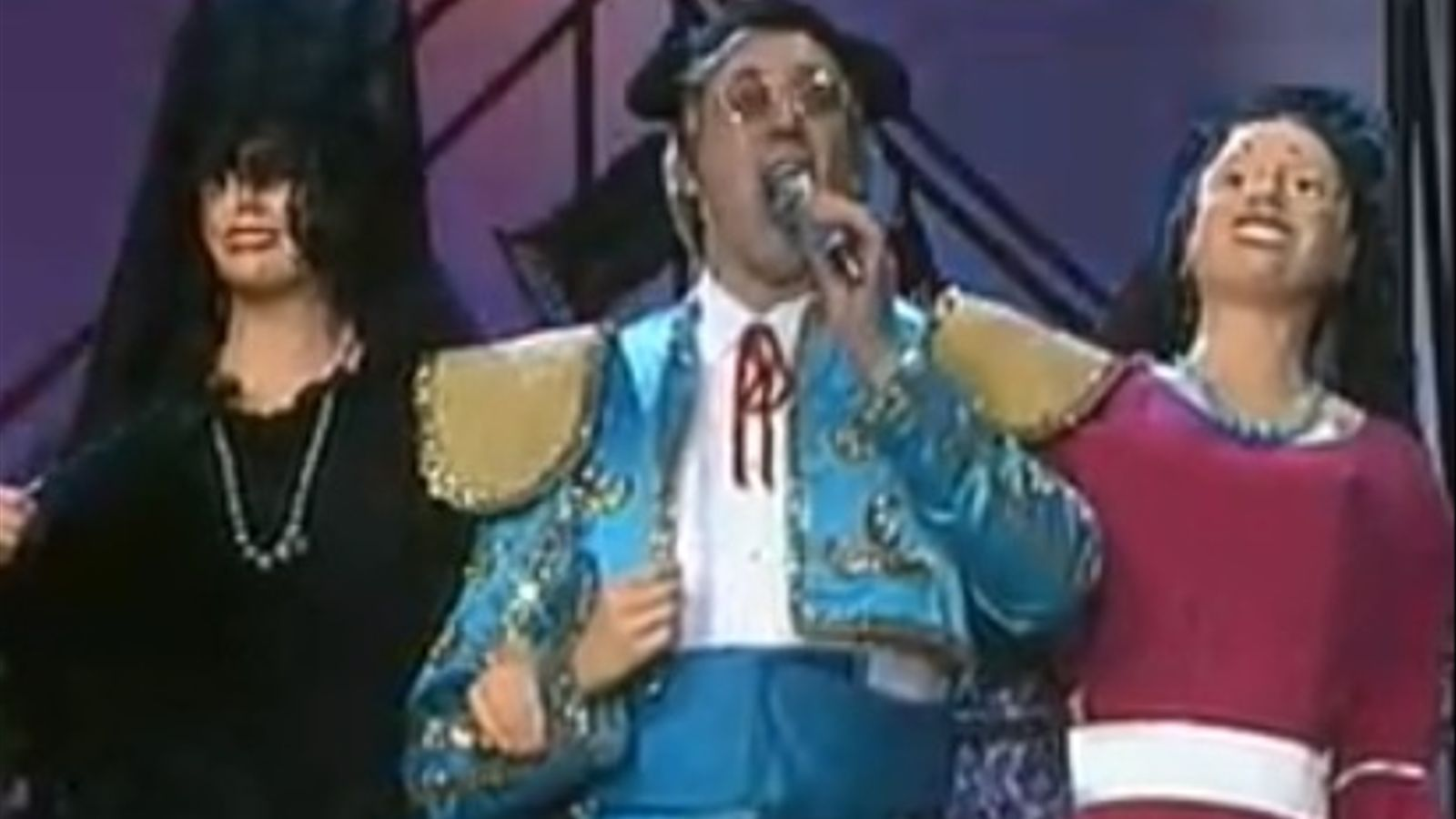 La Trinca es van vestir de toreros per dedicar una cançó a Fraga Iribarne