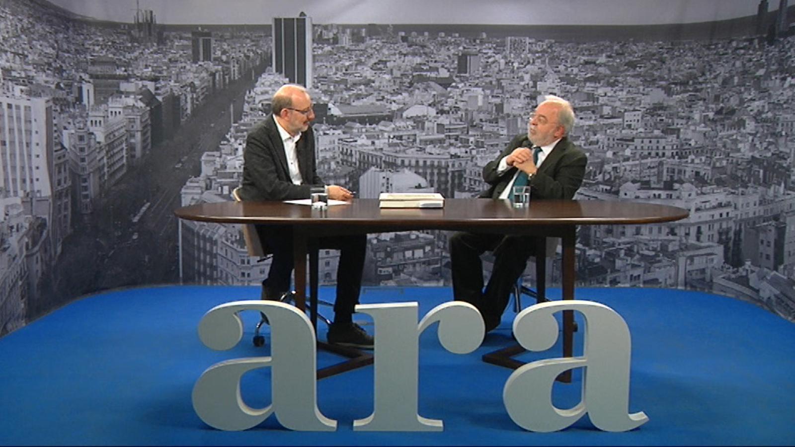 Entrevista d'Antoni Bassas a Jaume Miranda