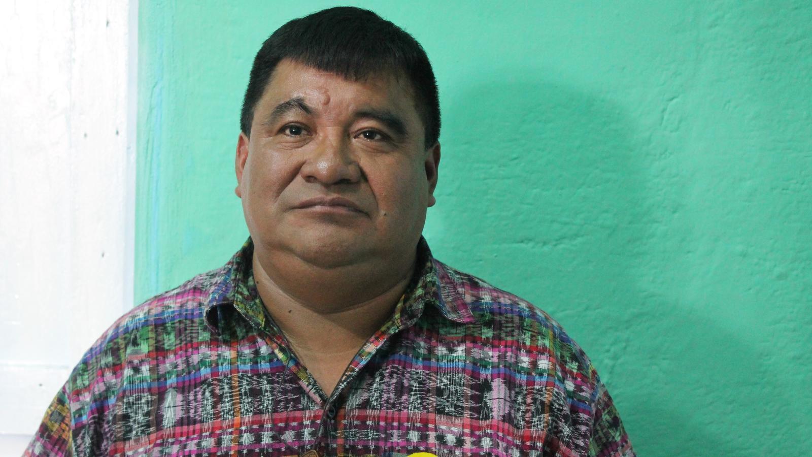 """Bernardo Caal, líder indígena de Guatemala: """"Florentino està assassinant el riu més sagrat del meu poble"""""""