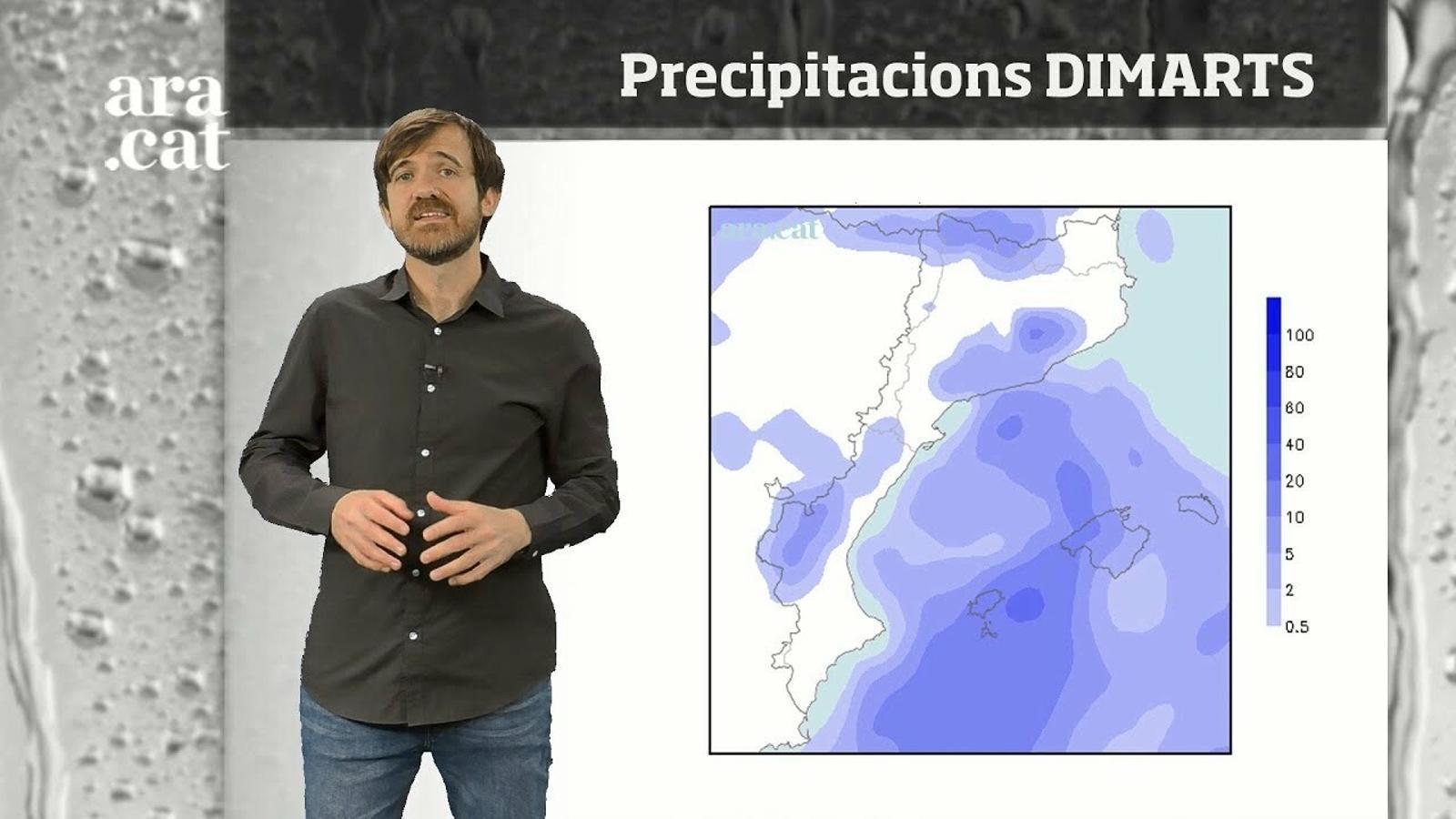 Méteo especial: ambient d'hivern i xàfecs puntuals