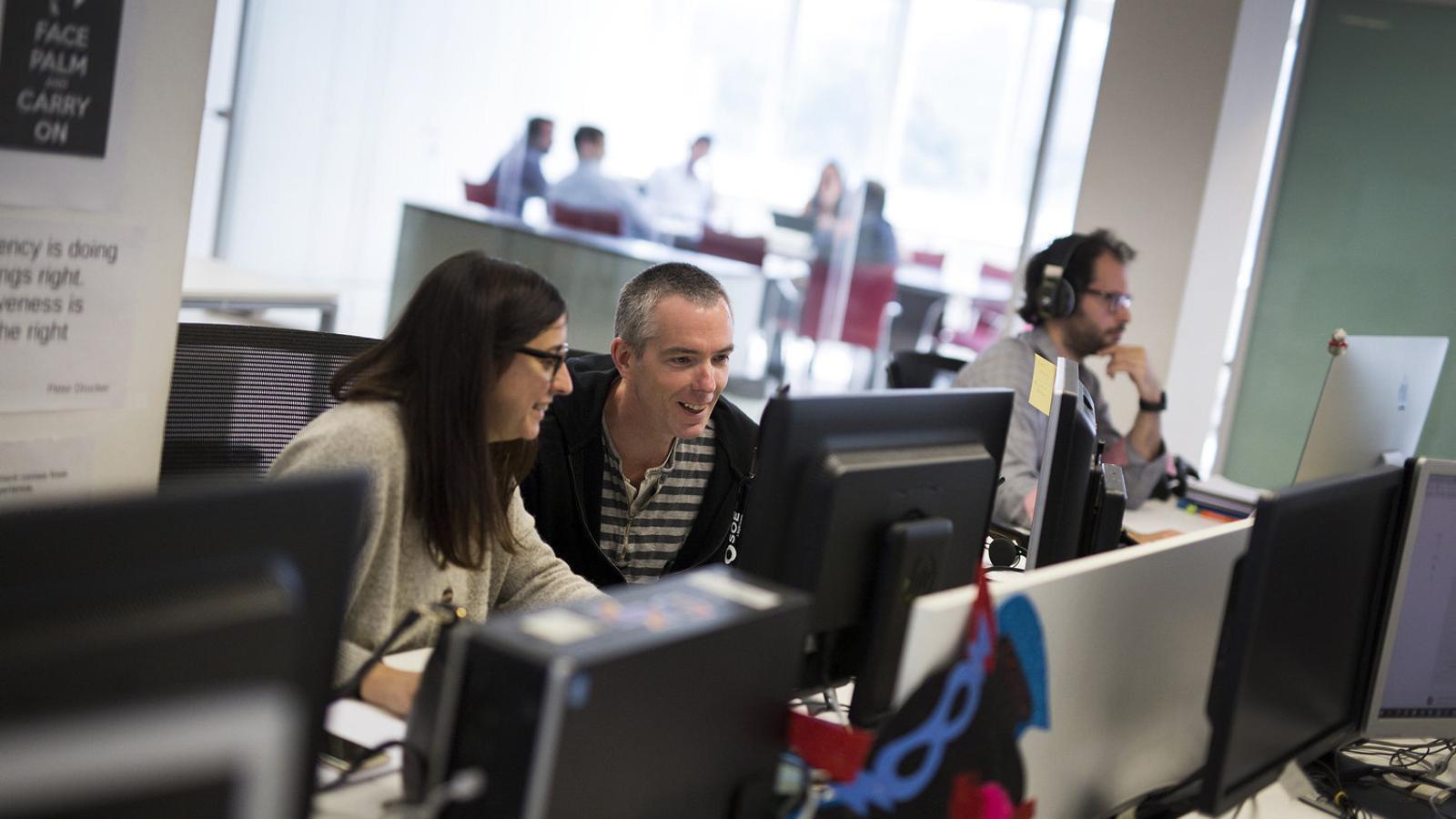 Oficines de Scytl a Barcelona, en una imatge d'arxiu.