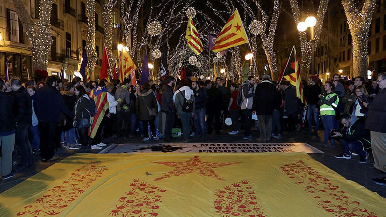 Cada 30 de desembre es du a terme la manifestació de la Diada.