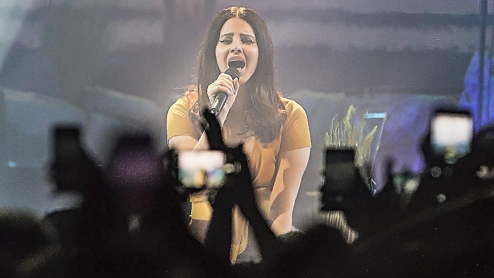 La platja de Lana Del Rey inaugura el seu Sant Jordi