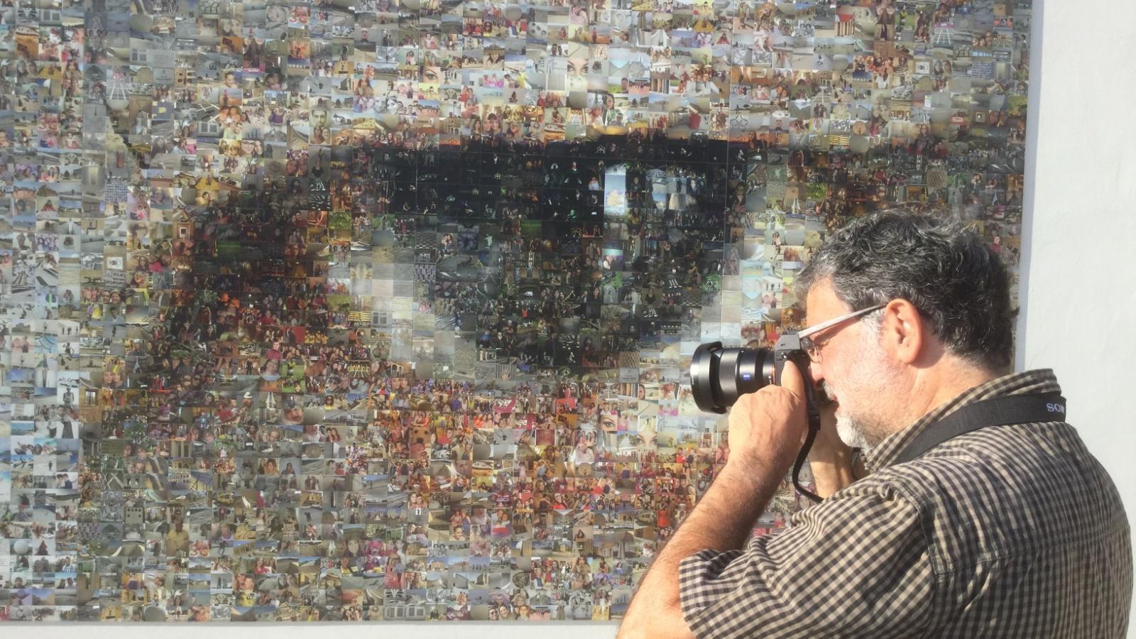 Joan Fontcuberta, Òmnium i el Festival Cruïlla impulsen el fotomosaic 'Mirades des del confinament'