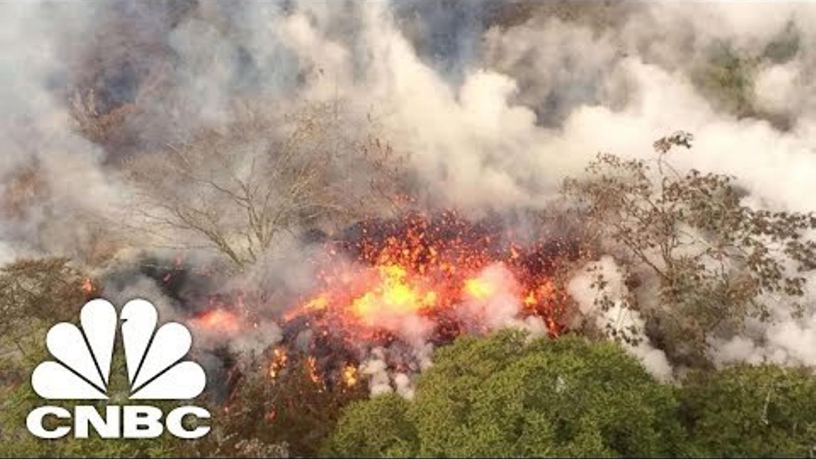 El volcà de Hawaii entra en una nova fase explosiva