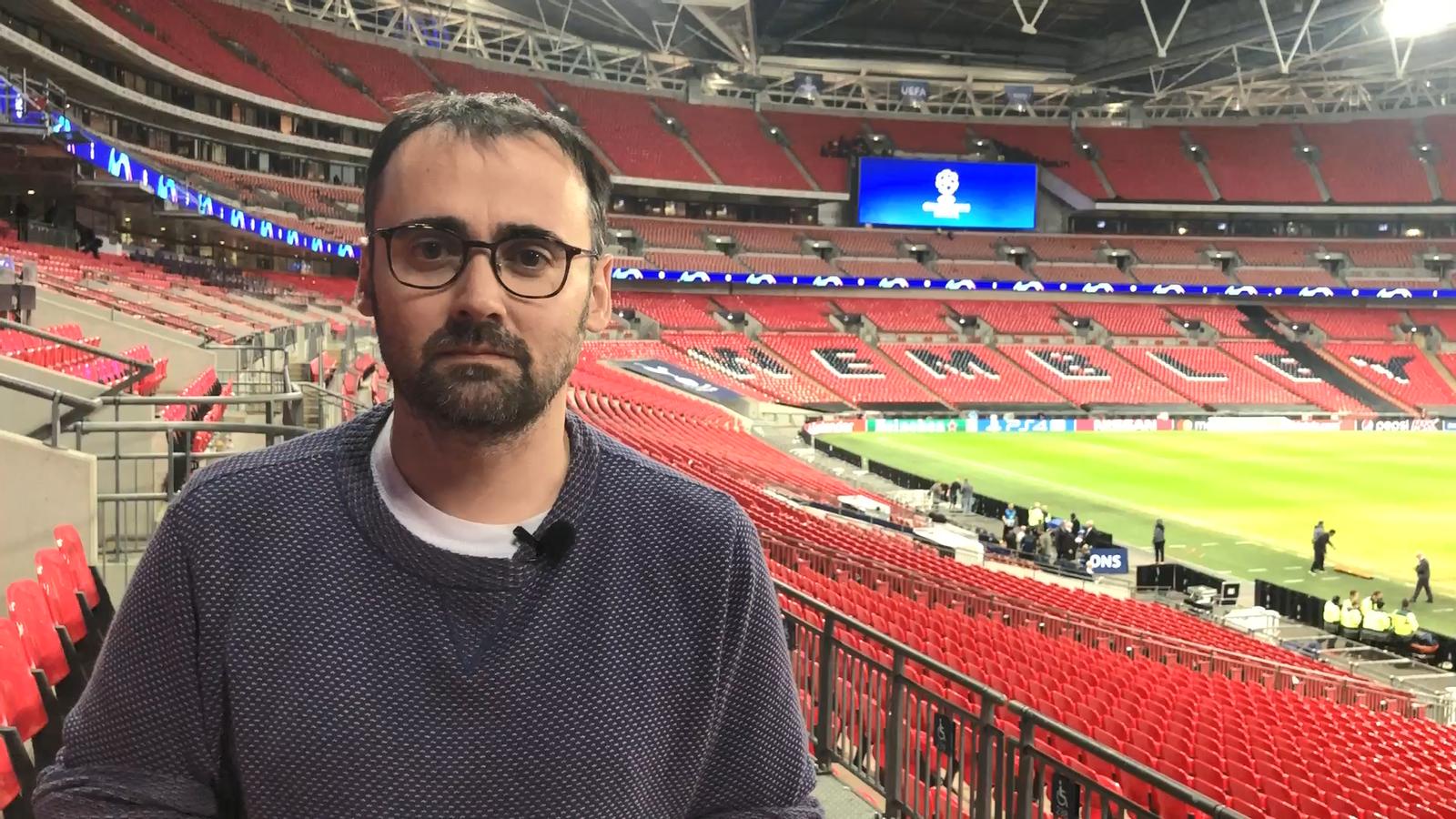 La contracrònica del Toni Padilla, des de Wembley