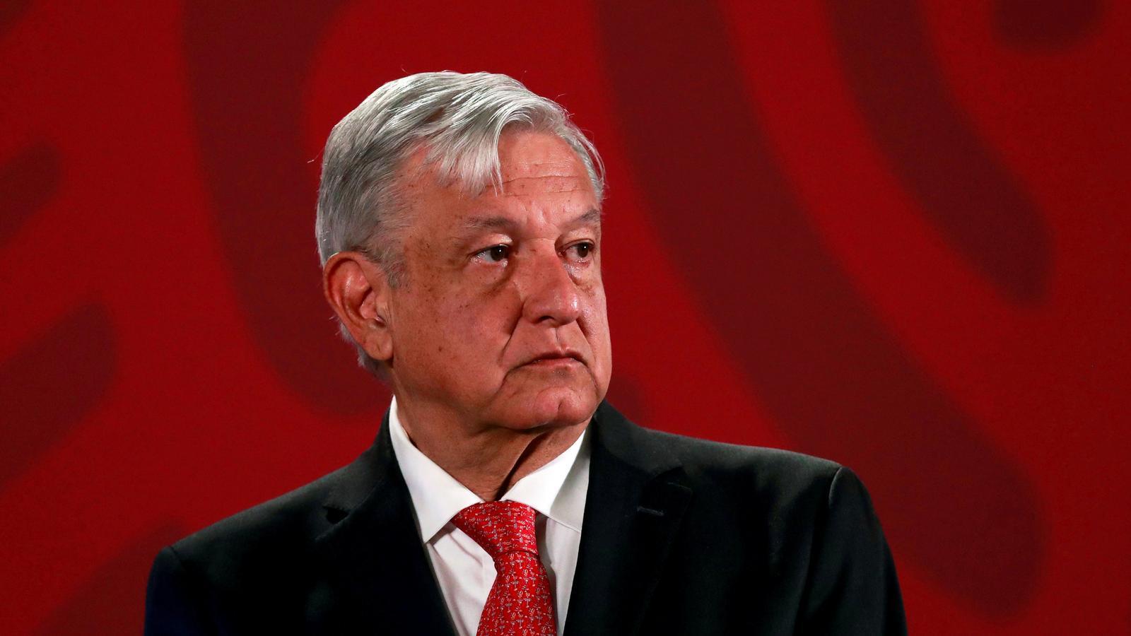 El president mexicà Andrés Manuel López Obrador