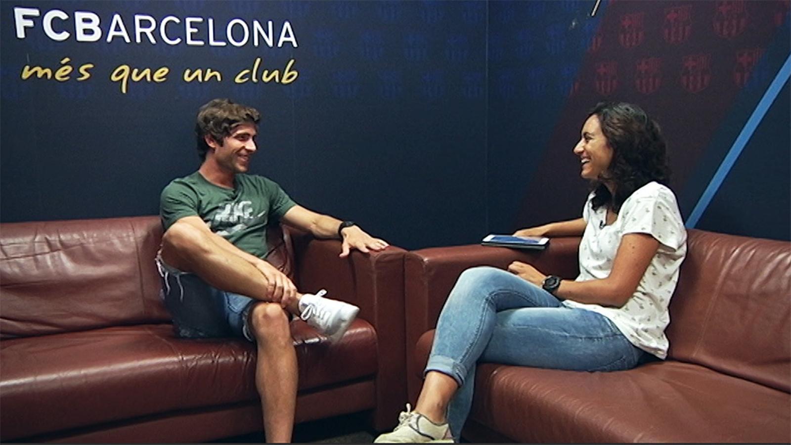 Entrevista a Sergi Roberto