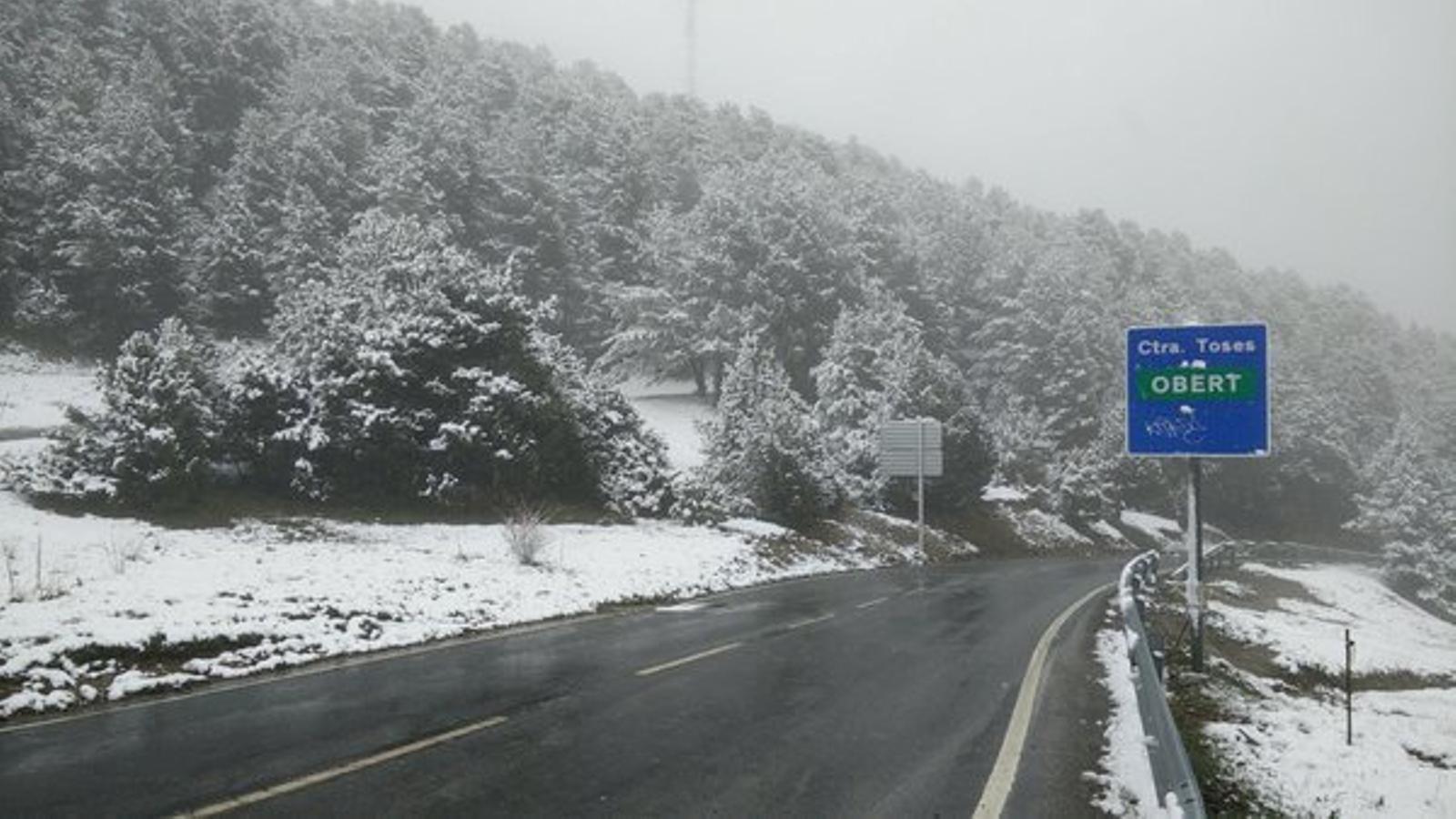 Pluja i neu, sobretot a les comarques més seques