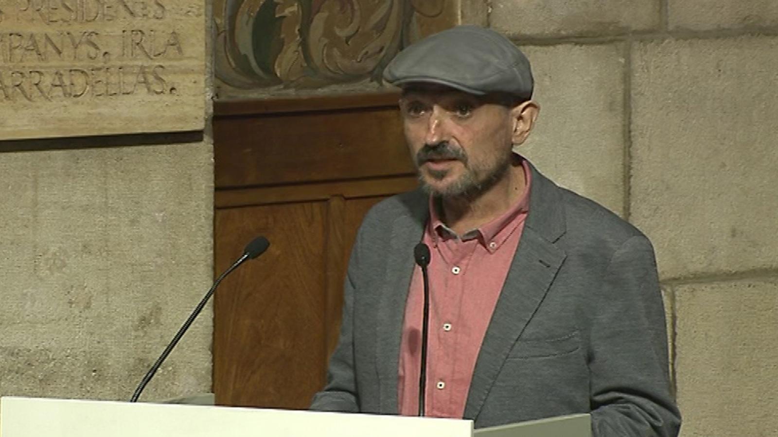 Discurs de Carles Capdevila en recollir el Premi de Nacional de Comunicació