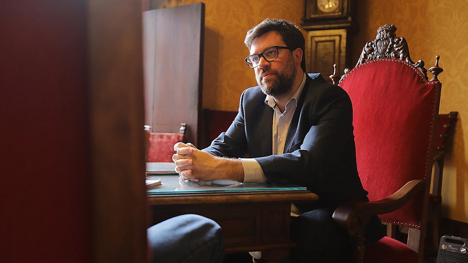 ANTONI NOGUERA  MÉS va recollir la proposta del batle de Palma de cercar una coalició amb EU.