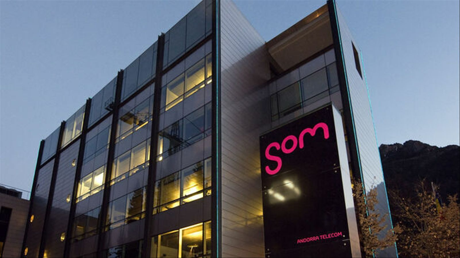 L'edifici d'Andorra Telecom. / ARXIU
