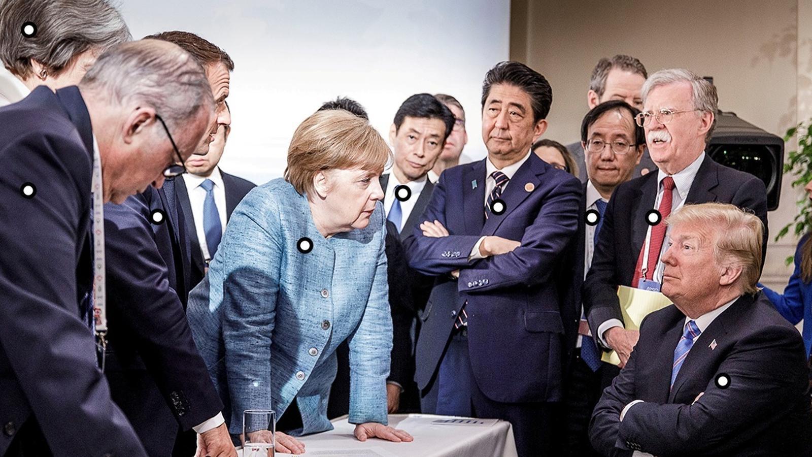 Qui és qui a la foto del G-7