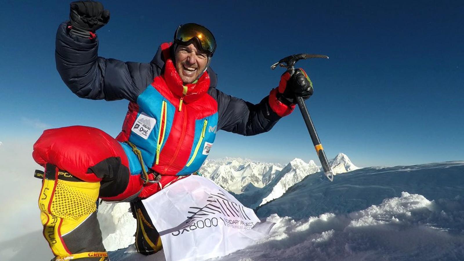 Mingote, en una imatge d'arxiu, havia aconseguit coronar sis cims de més de 8.000 metres en un sol any.