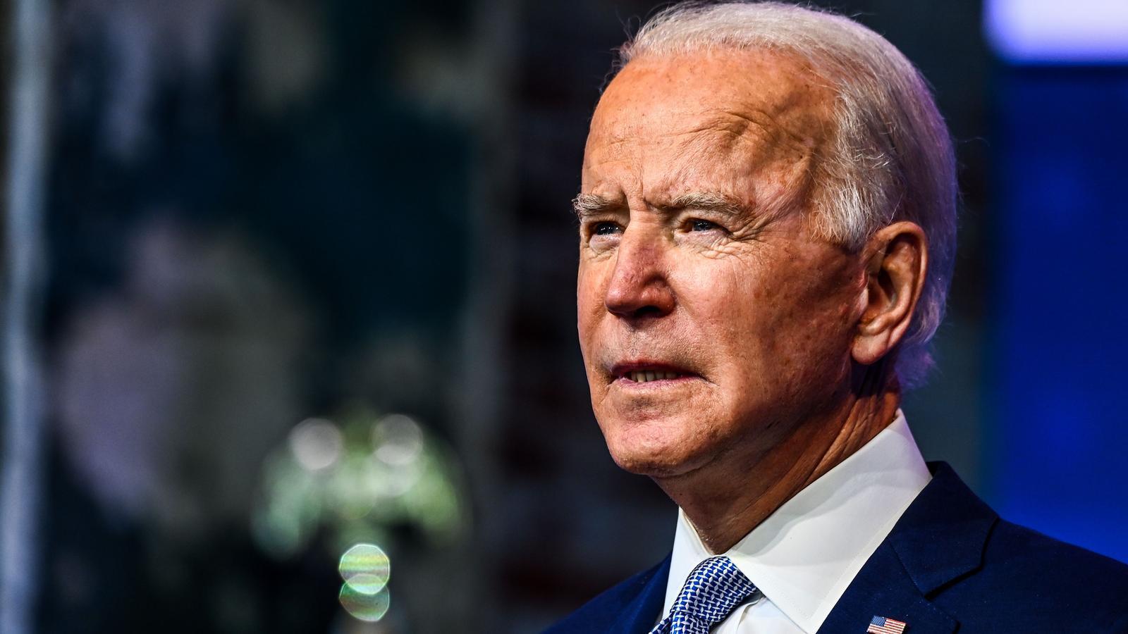 El president electe dels Estats Units, Joe Biden