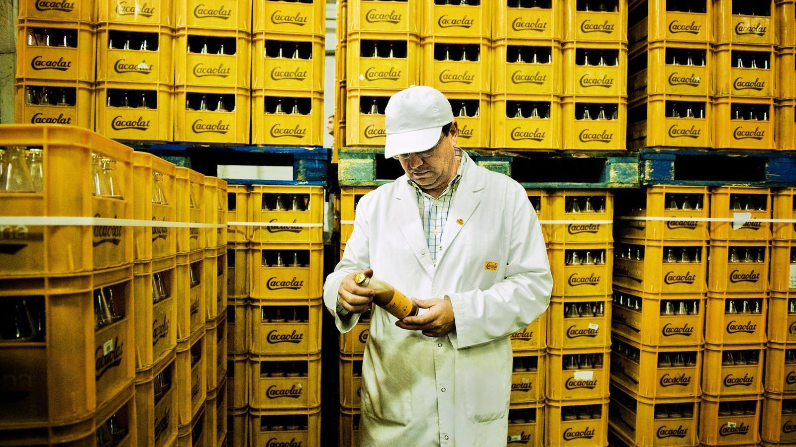 La producció de Cacaolat convoca una vaga indefinida