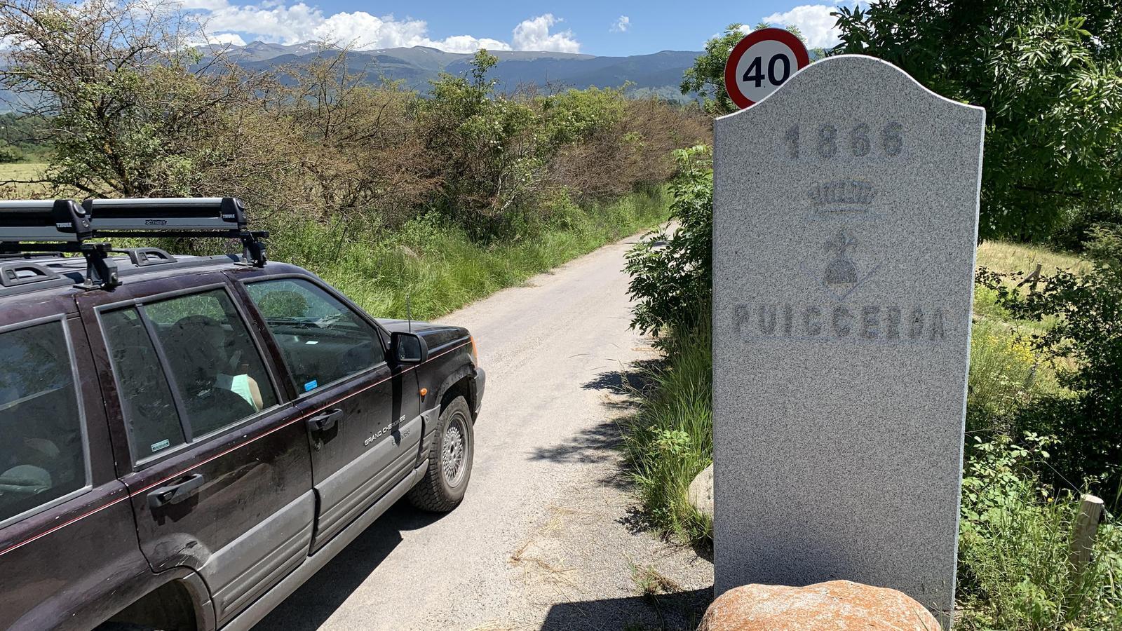 Punt fronterer entre Enveig i Puigcerdà. / G.L.T.