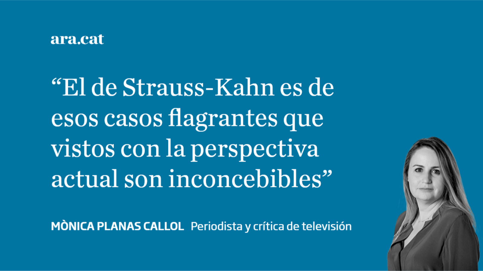 La condena de Dominique Strauss-Kahn