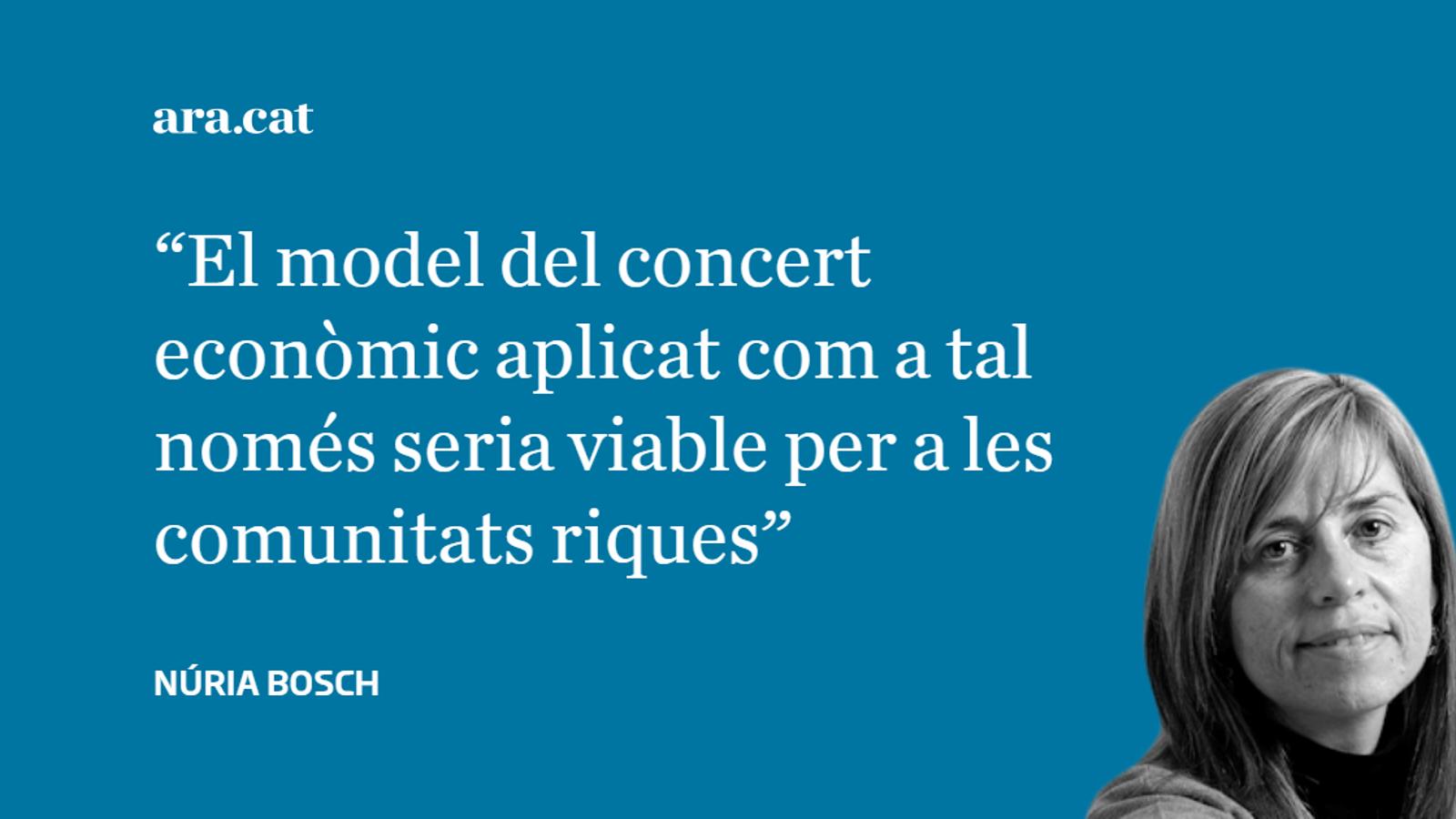 Què es pot copiar del concert basc?