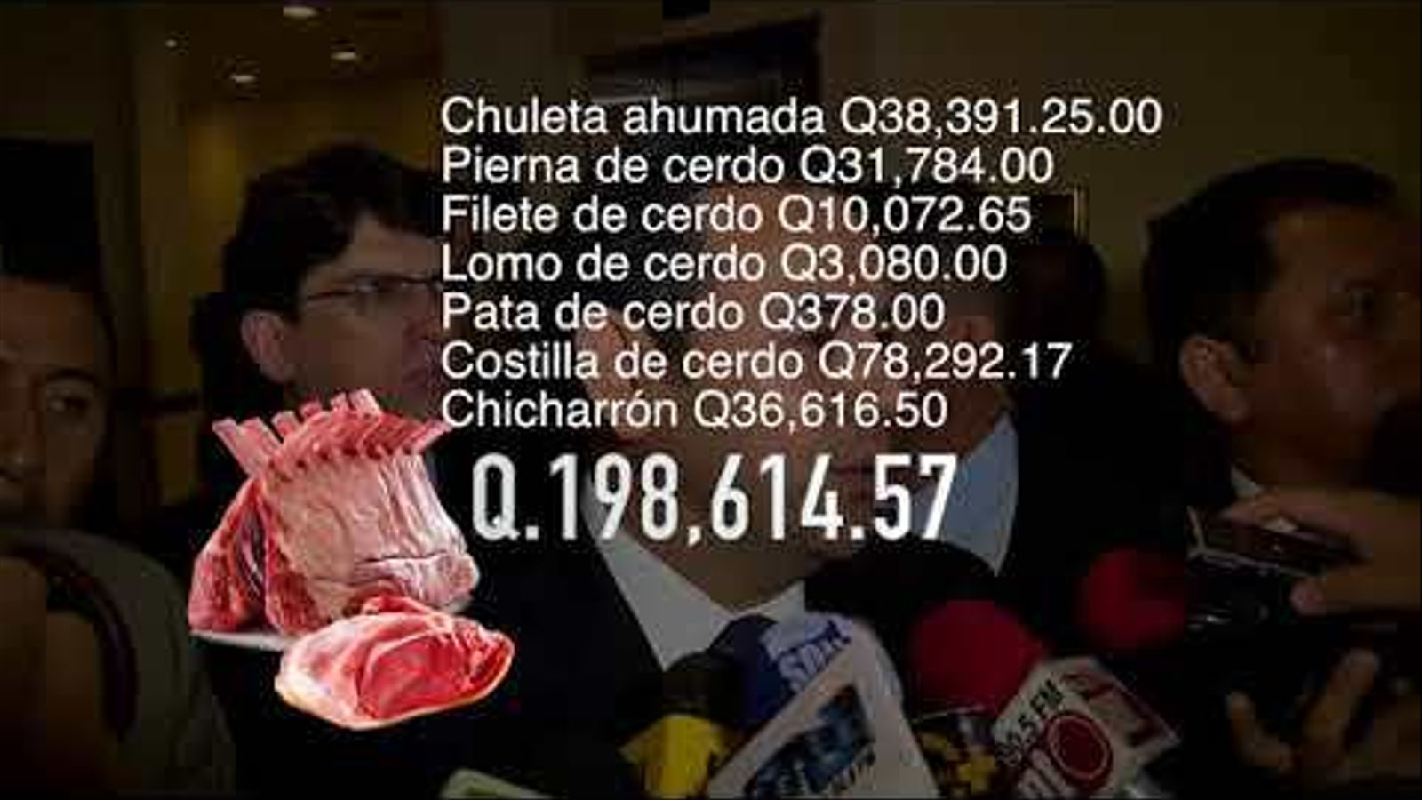 Banquets de milionaris al país de tres milions de pobres