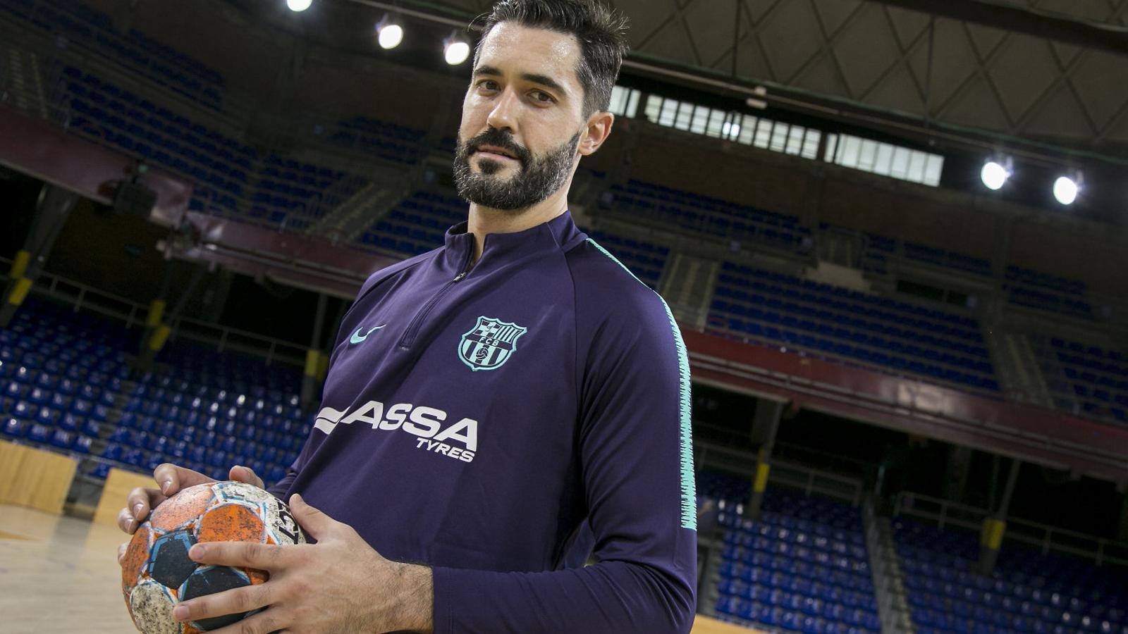 """Raúl Entrerríos: """"El més important és que el Barça no perdi la seva filosofia"""""""