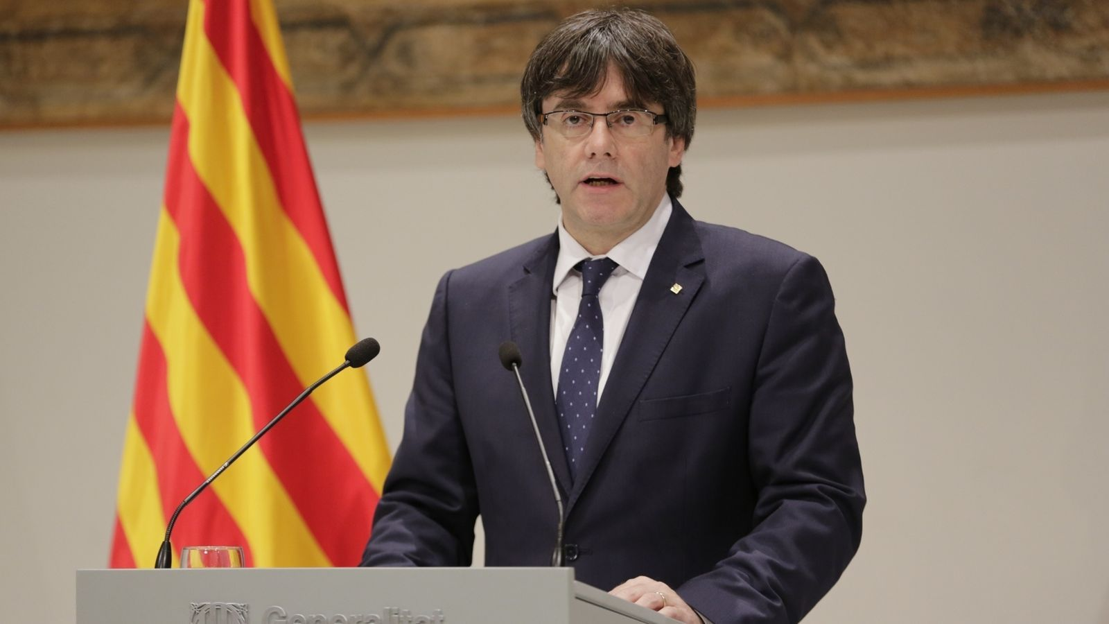 El president de la Generalitat, Carles Puigdemont, en una imatge d'arxiu