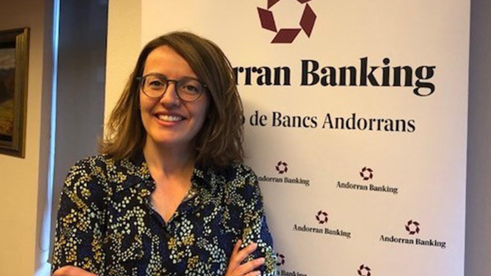 La directora general d'Andorran Banking, Esther Puigcercós. / ANDORRAN BANKING