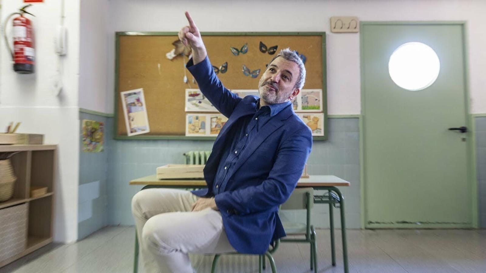 """Jaume Collboni: """"Vaig aterrar en una escola ancorada en el franquisme"""""""
