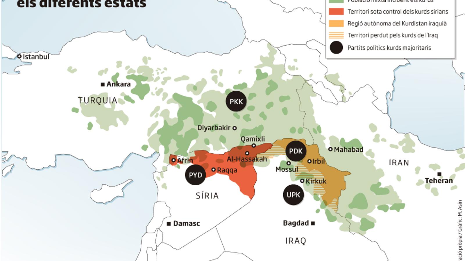 El món deixa els kurds abandonats a la seva sort