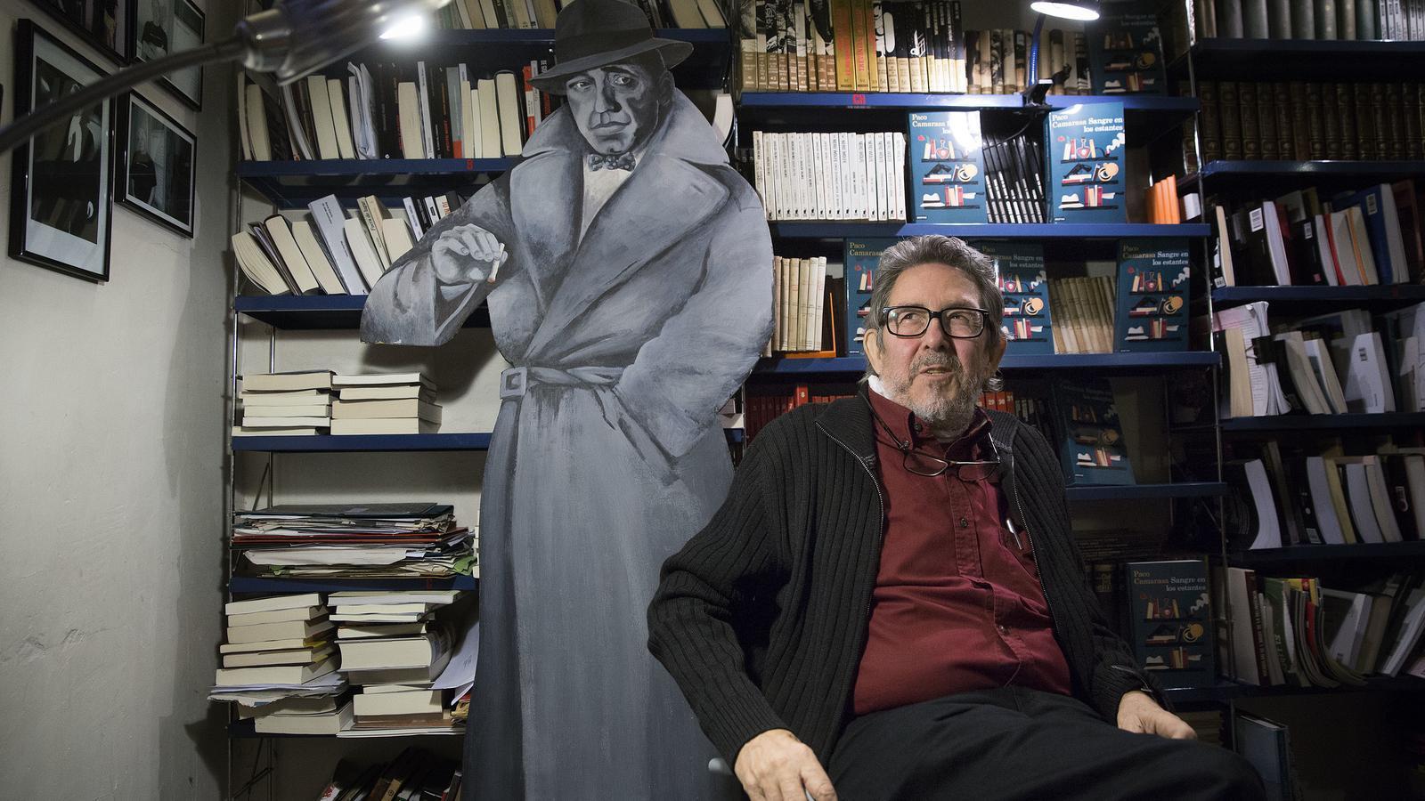 La novel·la negra perd el llibreter Paco Camarasa