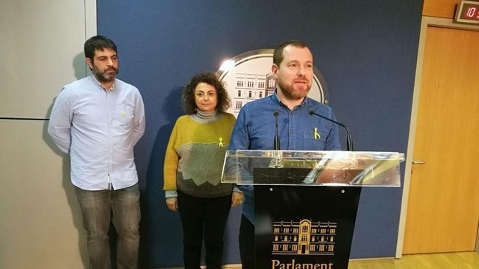 """MÉS per Mallorca, """"solidari"""" amb els presos polítics catalans"""